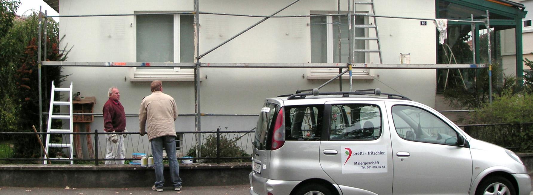 Fassadenschutz – Renovation